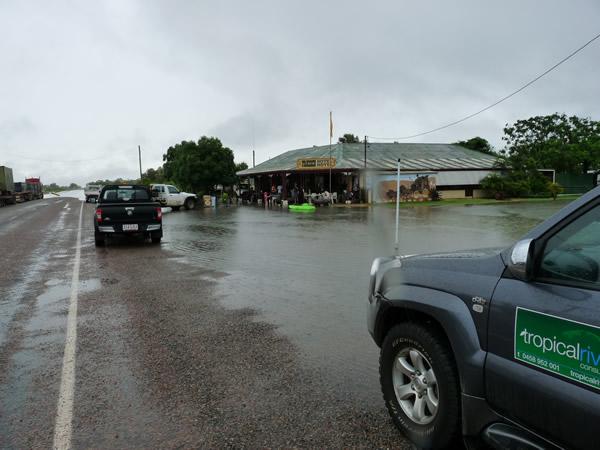 Gulf flooding 2009
