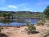 Upper catchment stock dam