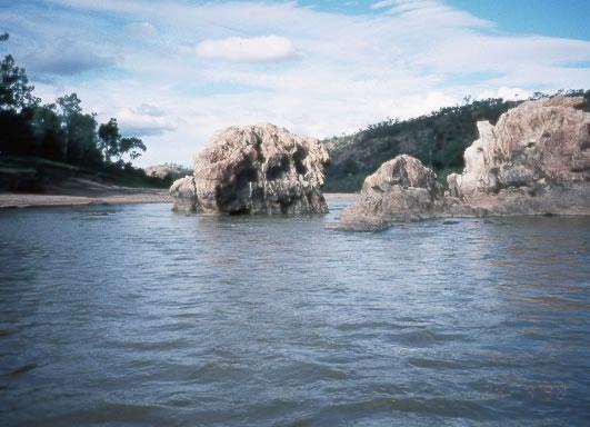 Burdekin Dam Crocodiles Dam Site Burdekin River