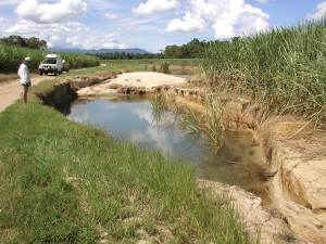 Drainage and excess water management is a big problem in the wet tropics